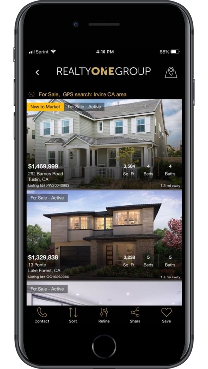 Realty ONE Group Home Search