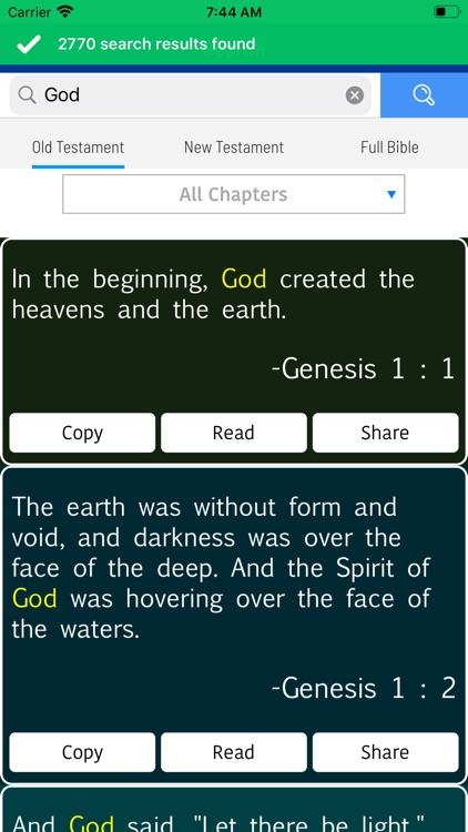 KJV - Holy Bible screenshot-8
