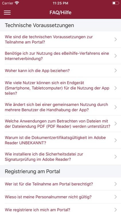 eBeihilfe - RLP - App screenshot-6