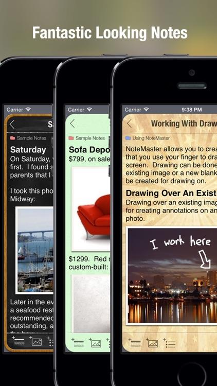 NoteMaster screenshot-3