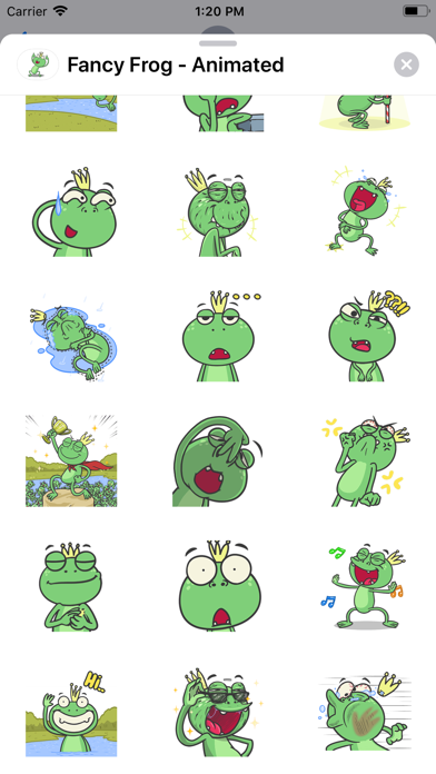 Fancy Frog - Animated screenshot 2