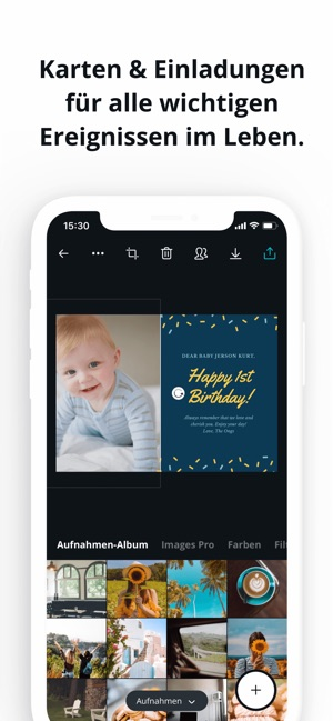 Canva - Grafik & Text Designer Screenshot
