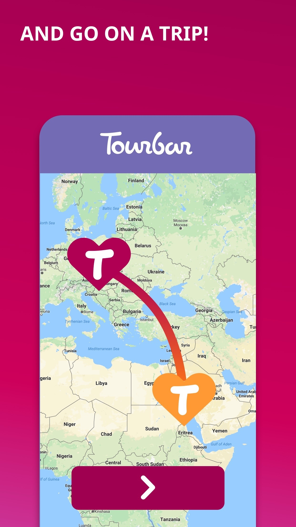 TourBar - Dating, Chat, Meet Screenshot