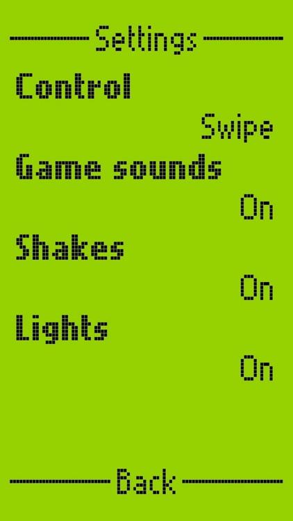 Snake II - Game from 2000 screenshot-7
