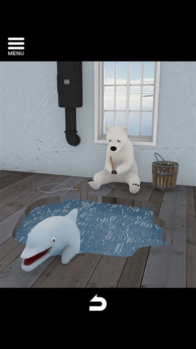 脱出ゲーム North Pole 氷の上のカチコチハウスのおすすめ画像5