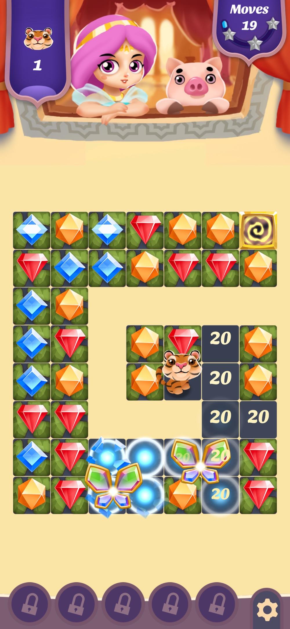 Jewel King: Diamond Smash Cheat Codes