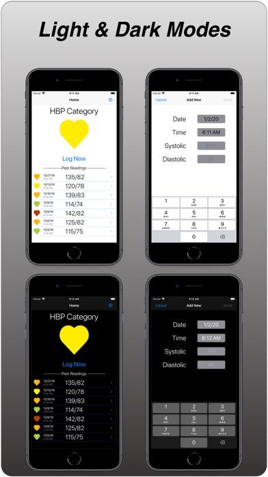 Screenshot of BP Monitor App