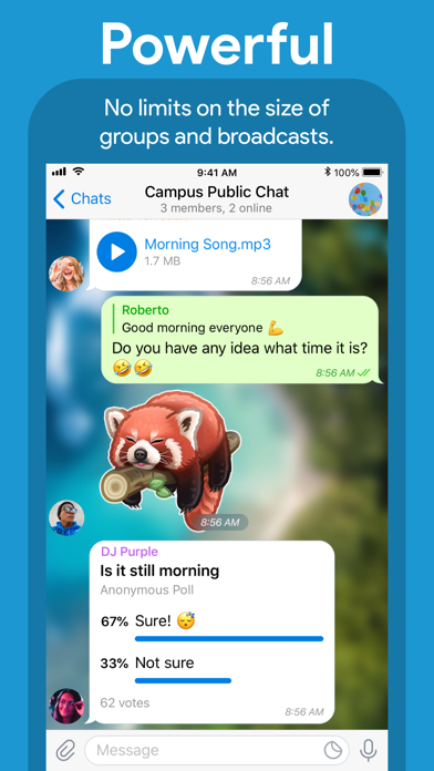 Screenshot for Telegram Messenger in New Zealand App Store