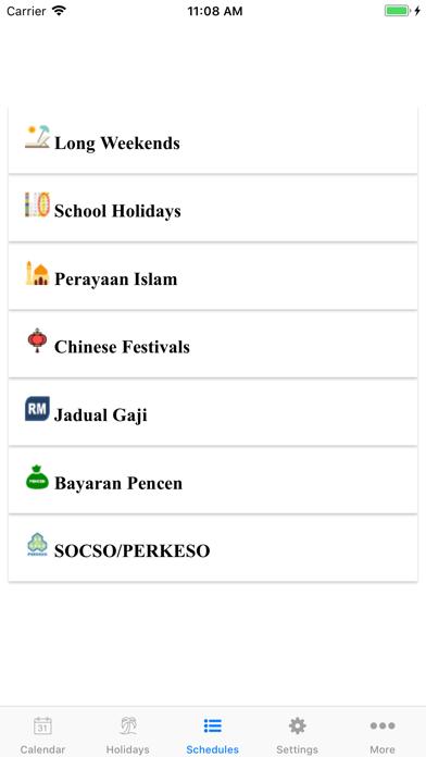 Malaysia Calendar 2020 /2019 screenshot three