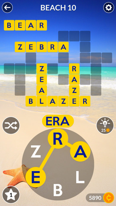 Screenshot for Wordscapes in Russian Federation App Store
