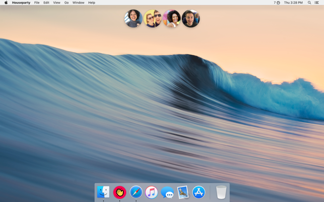 Houseparty on the Mac App Store