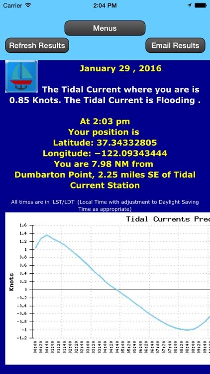Gulf Trip Plan w/Current+Tides screenshot-3