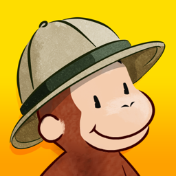 Ícone do app Curious George: Zoo Animals