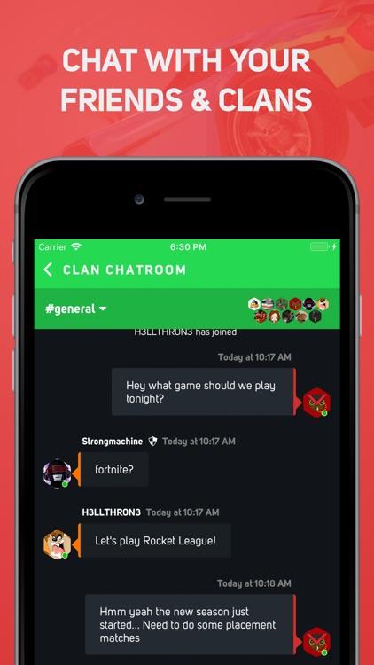 GamerLink - LFG & Clan Chat! screenshot-3