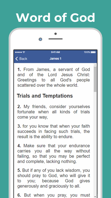 Good News Bible (GNB)Screenshot of 3