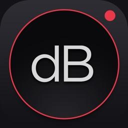 Decibel : dB sound level meter