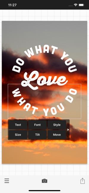 Phonto - Text on Photos im App Store
