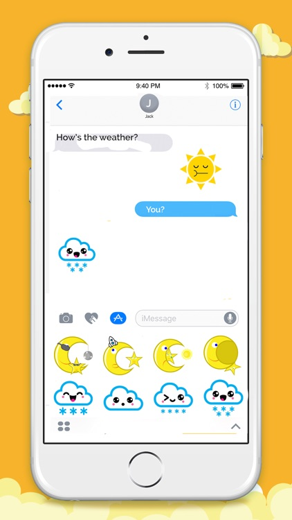Animated Weather Stickers! screenshot-3