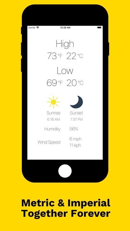 WeatherGO: Temperature App screenshot-3