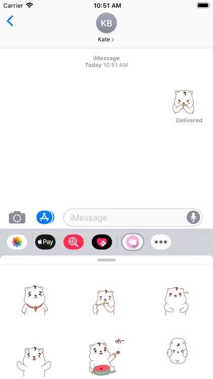 可爱的小白熊-YiYuan screenshot-3
