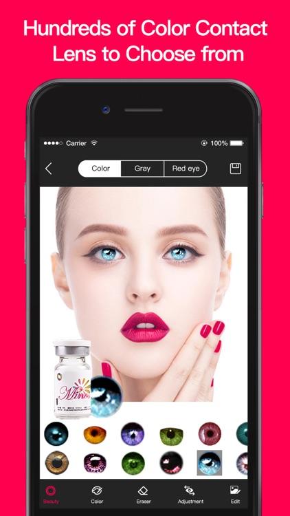 Magic Eye Color-Face Makeup screenshot-5