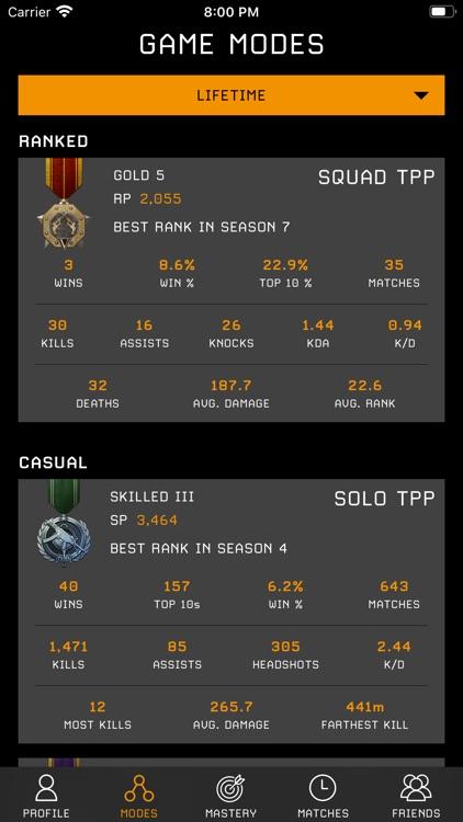 Stats Tracker for PUBG screenshot-5