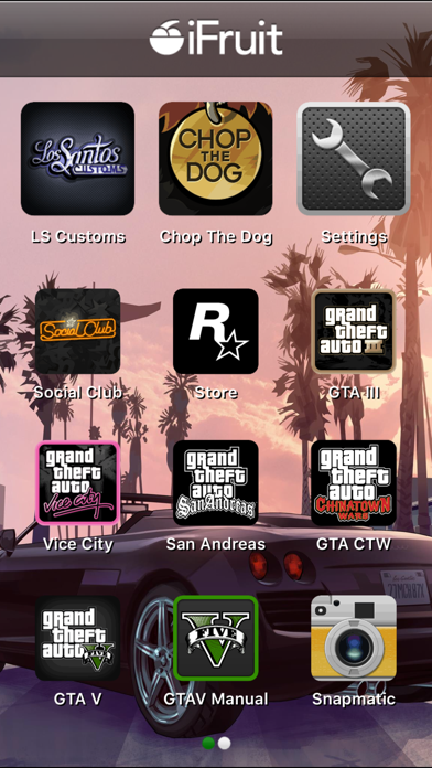 Grand Theft Auto: iFruit for windows pc