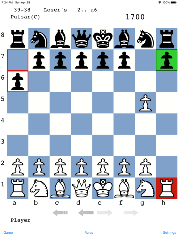 Pulsar Chess Engine by Michael Adams (iOS, United States