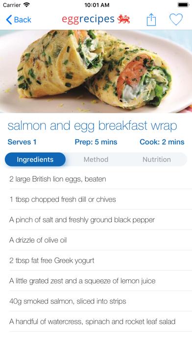 Egg Recipes screenshot four