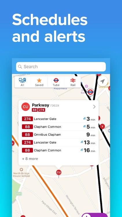 Next Bus UK: Train & Bus Times screenshot-4
