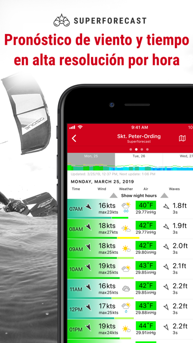 Screenshot for Windfinder Pro in Chile App Store