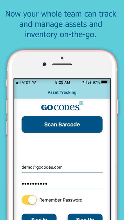 GoCodes Asset Tracking screenshot-0