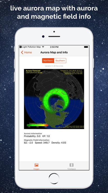 Light Pollution Map - Dark Sky