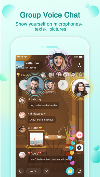 Yalla - Group Voice Chat Rooms Screenshot