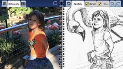Interactive Sketchbook review screenshots