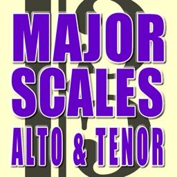 Major Scales Alto & Tenor Clef