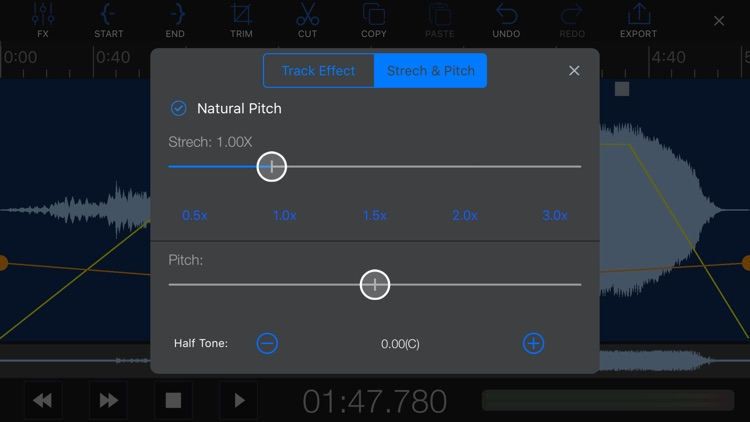 EZAudioCut(MT)-Audio Editor screenshot-6