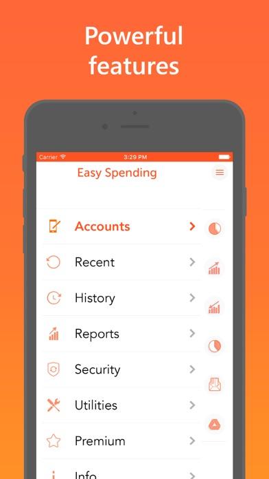 Easy Spending Expense Tracker Screenshots