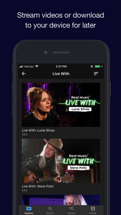 Real Music TV screenshot-3
