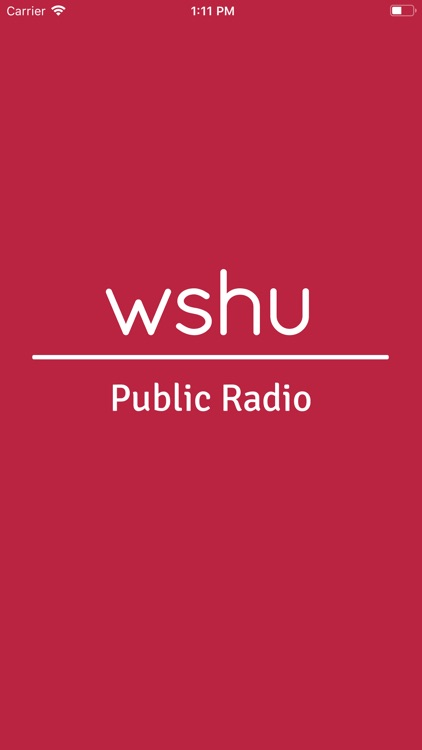 WSHU Public Radio App screenshot-0