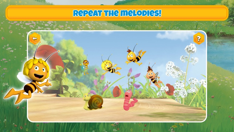 Maya the Bee's gamebox 1 screenshot-3