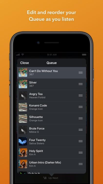 Doppler Music Player screenshot-4