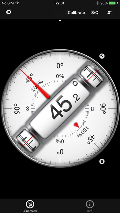バブルレベル+傾斜計 (clinometer)のおすすめ画像1
