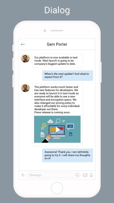 Screen Shot Community messenger 2