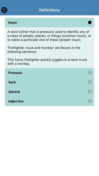 Silly Sentences Part of Speech screenshot-4