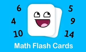Math Flash Cards for TV