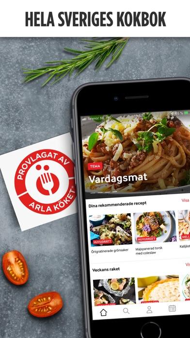 Arla Köket - Recept och mat screenshot one
