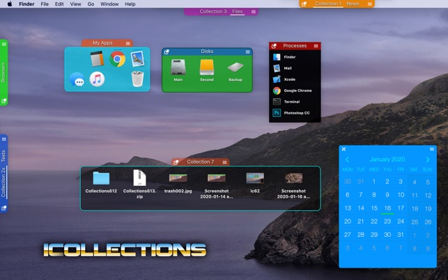 ‎iCollections Screenshot