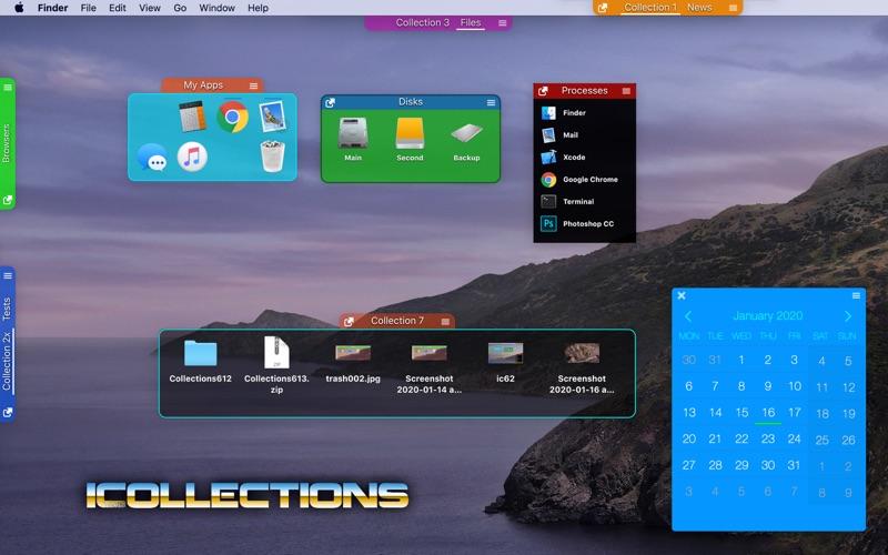 iCollections Screenshots