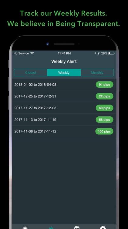 ForexAchievers Signals screenshot-3